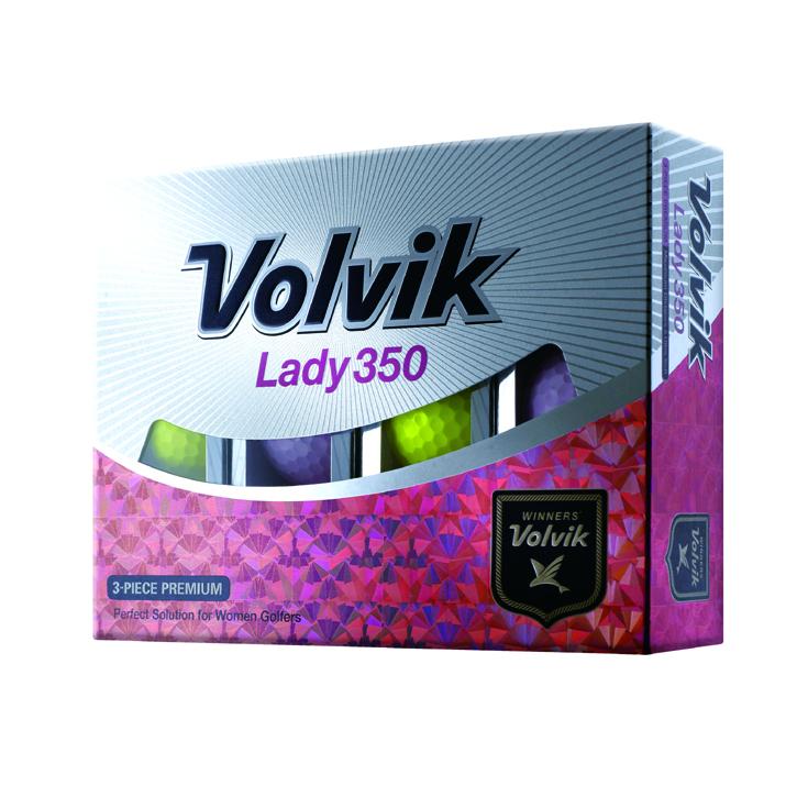 Volvik Lady 350 Golf Balls (1 Dozen)