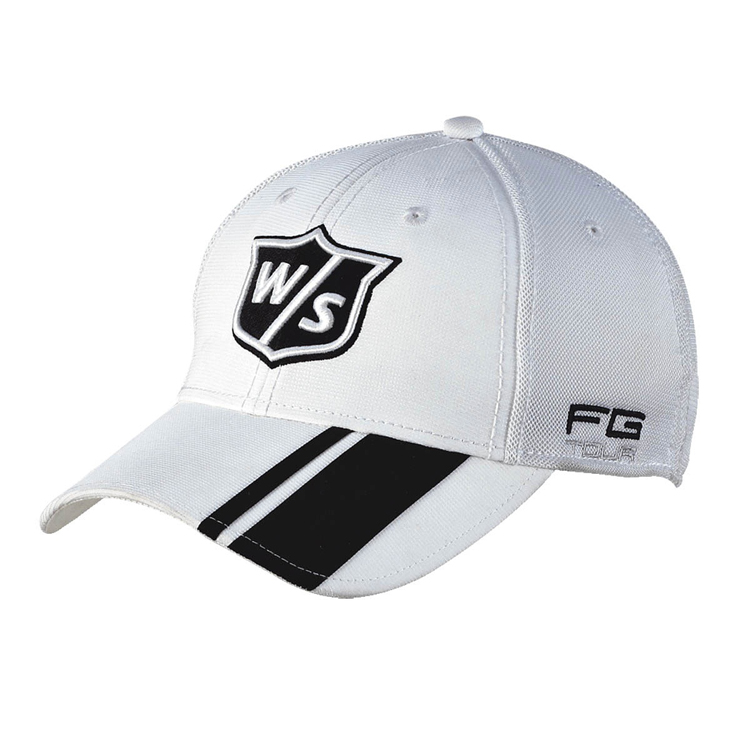 Wilson FG Tour Golf Cap - White