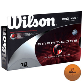 Wilson Smart-Core Golf Balls (18 pack) - Orange
