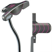 Yes! C-Groove Putter: Tiffany Pink