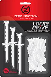 Zero Friction Lock N Drive Tees