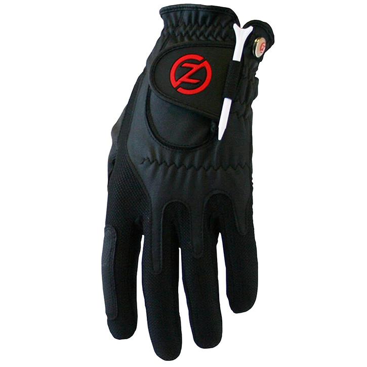 Zero Friction Compression Fit Mens Glove - Black