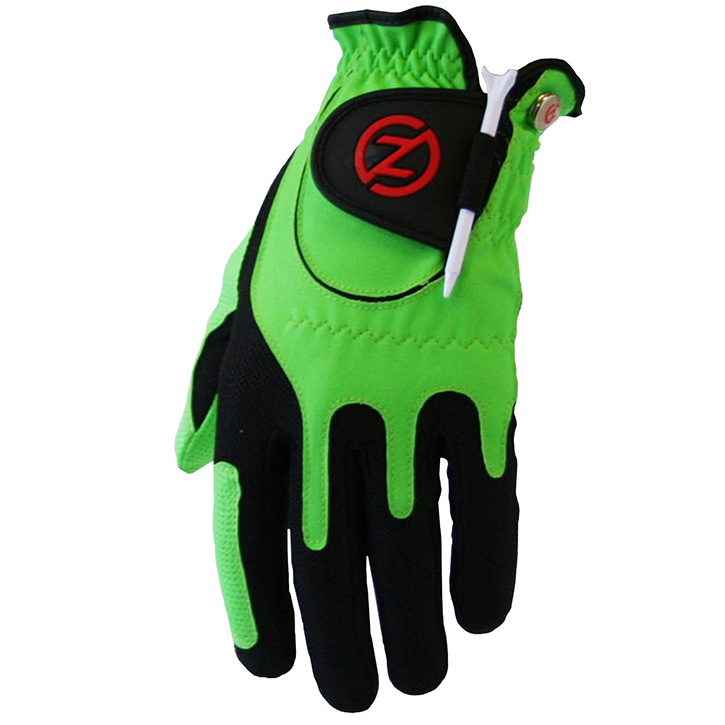Zero Friction Compression Fit Mens Glove - Green