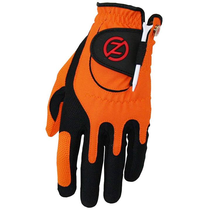 Zero Friction Compression Fit Mens Glove - Orange