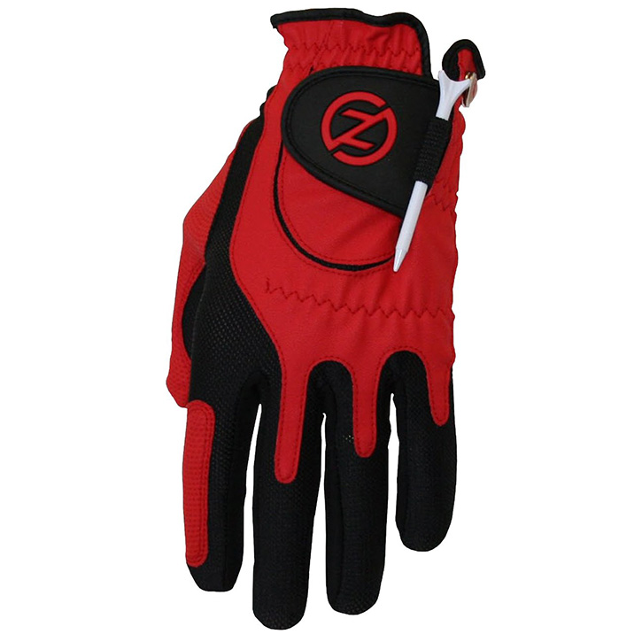 Zero Friction Compression Fit Mens Glove - Red