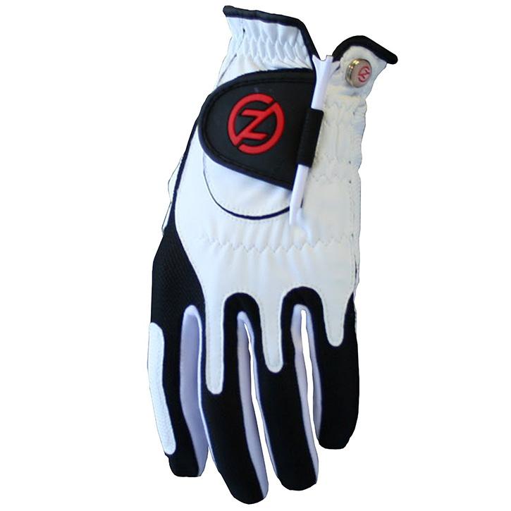 Zero Friction Compression Fit Mens Glove - White