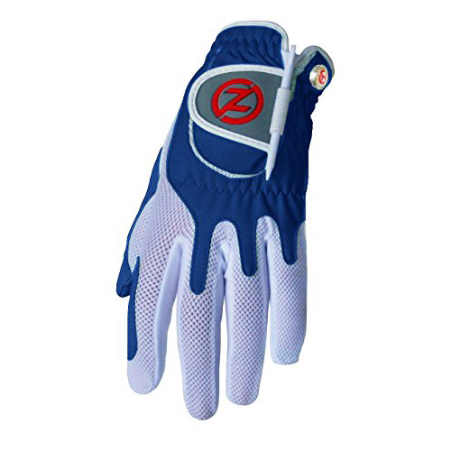 Zero Friction Compression Fit Womens Glove - Blue