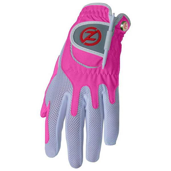 Zero Friction Compression Fit Womens Glove Pink At