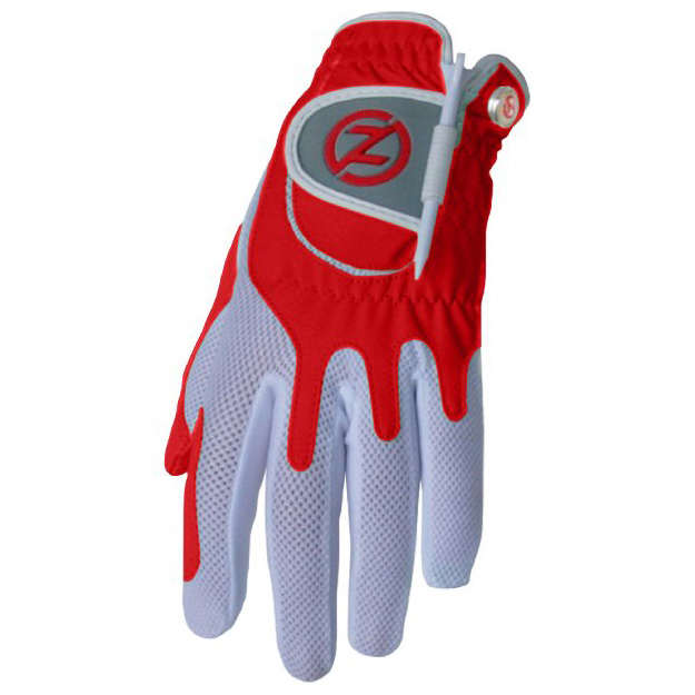 Zero Friction Compression Fit Womens Glove - Red