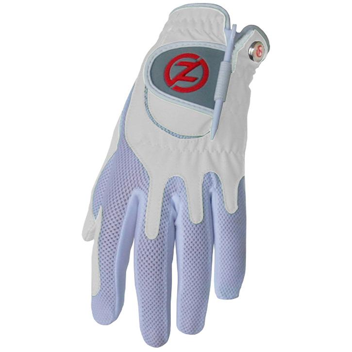 Zero Friction Compression Fit Womens Glove - White