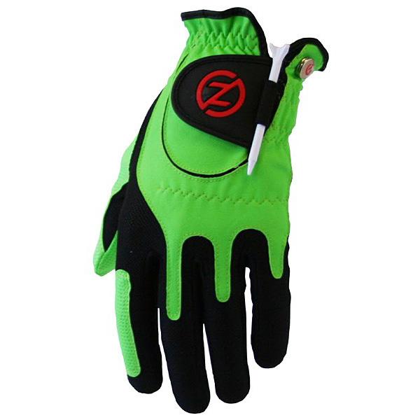 Zero Friction Compression Fit Junior Glove - Green