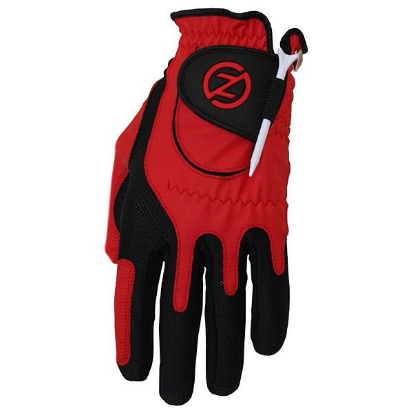 Zero Friction Compression Fit Junior Glove - Red