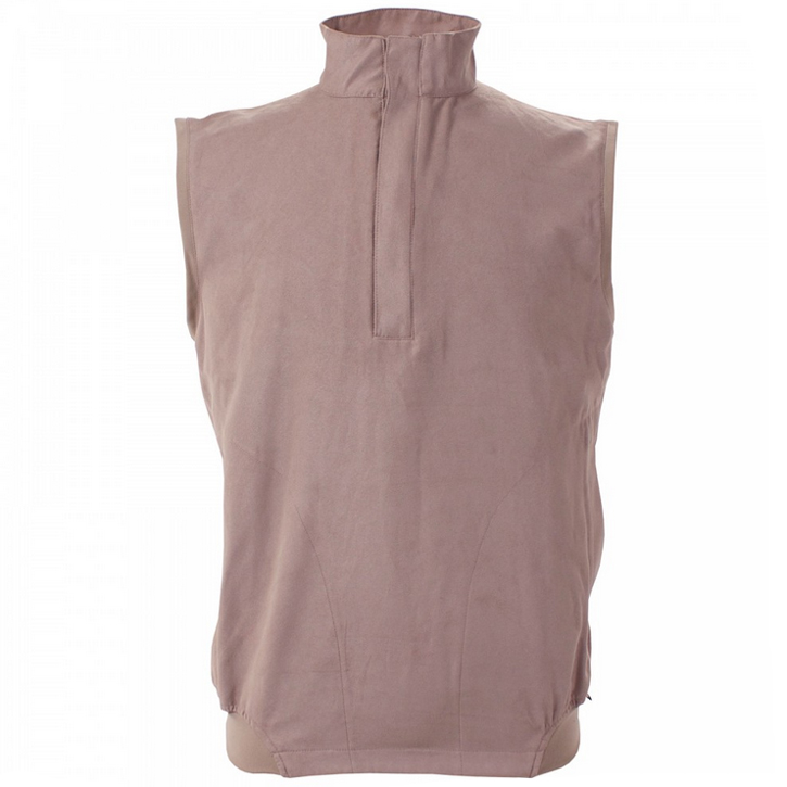 Zero Restriction Classic Microsuede Windvest - Taupe