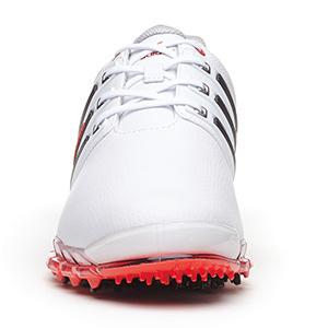 03a72744cd659b Adidas Tour 360 ATV M1 Golf Shoes - Men s White Black Red at  InTheHoleGolf.com