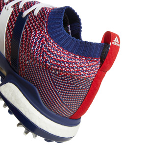 2018 Adidas Tour 360 Knit Golf Shoes - Red/White/Blue at ...