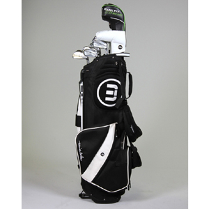 Travis Mathew Golf Stand Bag Black At Intheholegolf