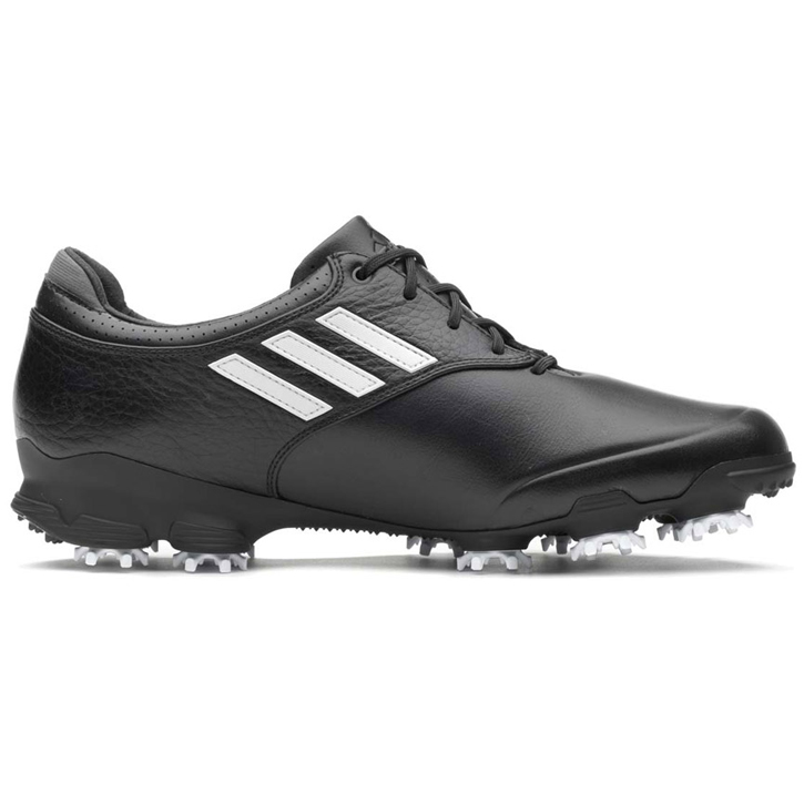 Adidas adizero Tour Golf Shoes - Mens Black/White/Black at ...