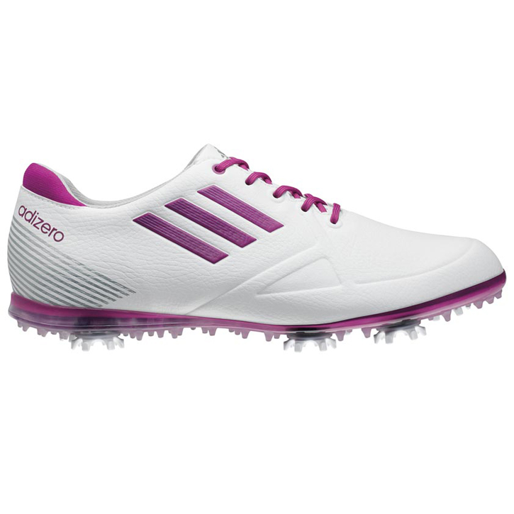 dispersión Aclarar sarcoma  Adidas adizero Tour Golf Shoes - Womens White/Passion Fruit at ...