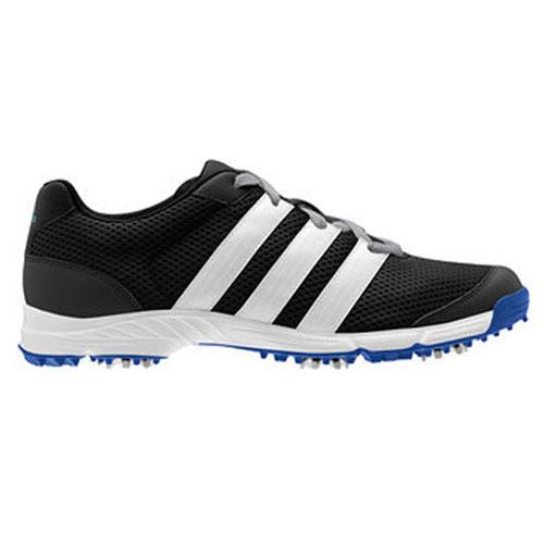 Adidas 2012 Climacool Sport Mens Golf Shoes - Black/White ...
