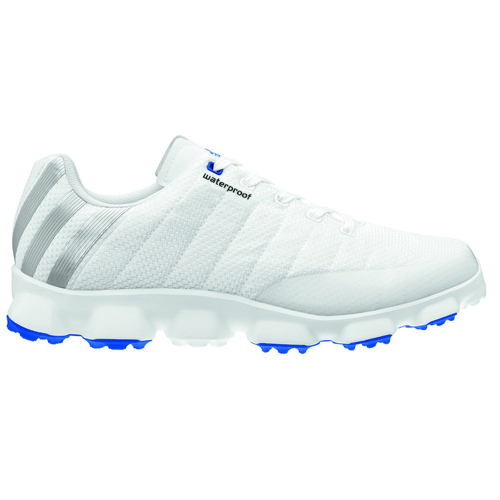 Adidas 2013 CrossFlex Golf Shoes - Mens White/Blue at ...
