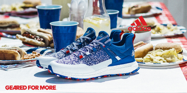 new arrival 803bd 2da35 Adidas Crossknit Boost Golf Shoes - Limited Edition US Open