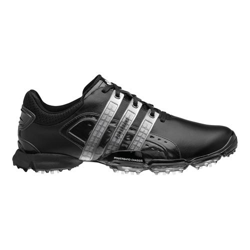 Adidas Powerband 4.0 Golf Shoes - Mens Black/Black/White at ...