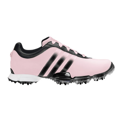 Adidas 2012 Signature Paula 2.0 Womens Golf Shoes - Pale Pink Black Black  at InTheHoleGolf.com 03edd3fda