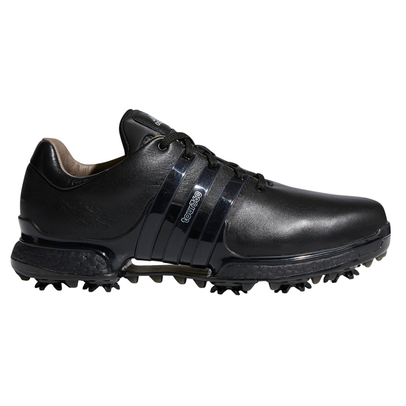 Fruncir el ceño Finalmente Para construir  2018 Adidas Tour 360 Boost 2.0 Golf Shoes - Black/Black at InTheHoleGolf.com