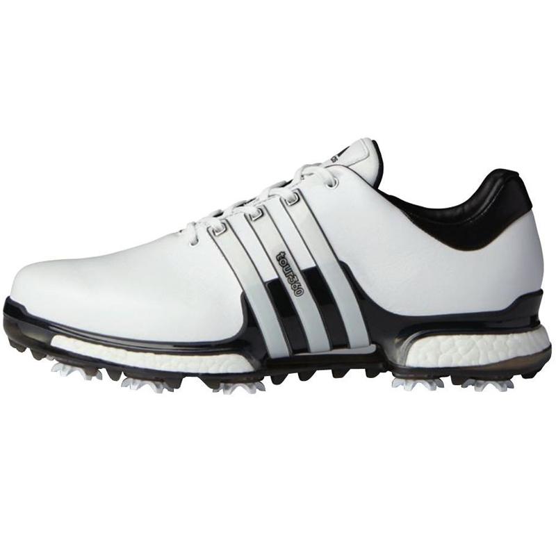 2018 Adidas Tour 360 Boost 2 0 Golf Shoes White Black At Intheholegolf Com