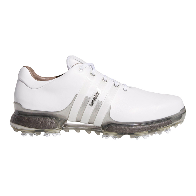 2018 Adidas Tour 360 Boost 2.0 Golf Shoes - White/Grey at ...