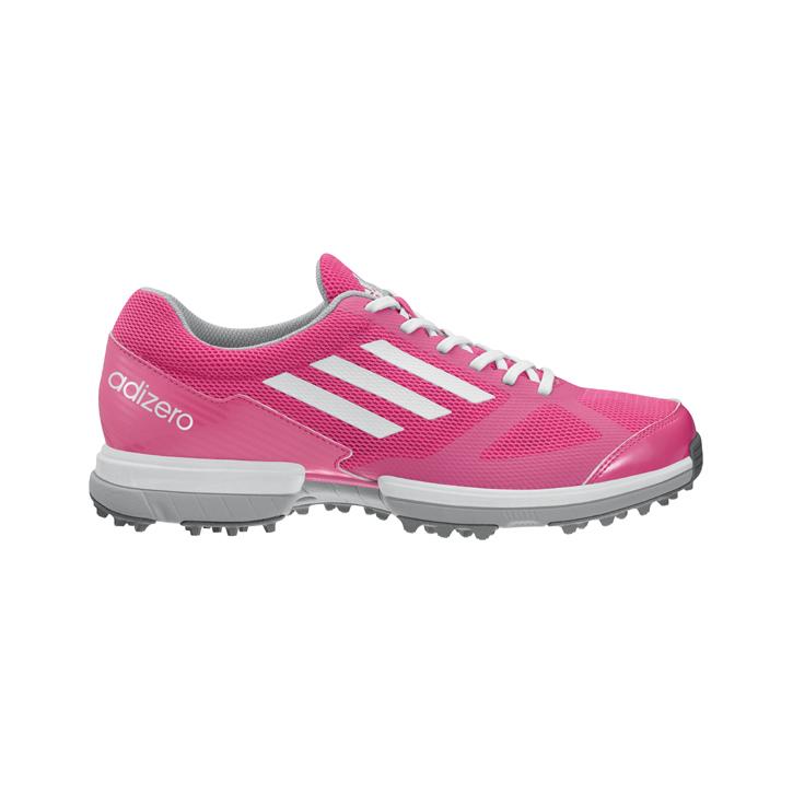 Adidas adizero Sport Golf Shoes - Womens Pink at InTheHoleGolf.com