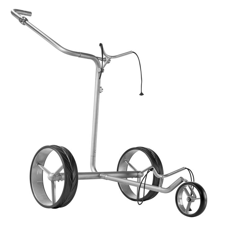 JuCad Drive SL Travel eX Titanium Electric Golf Push Cart