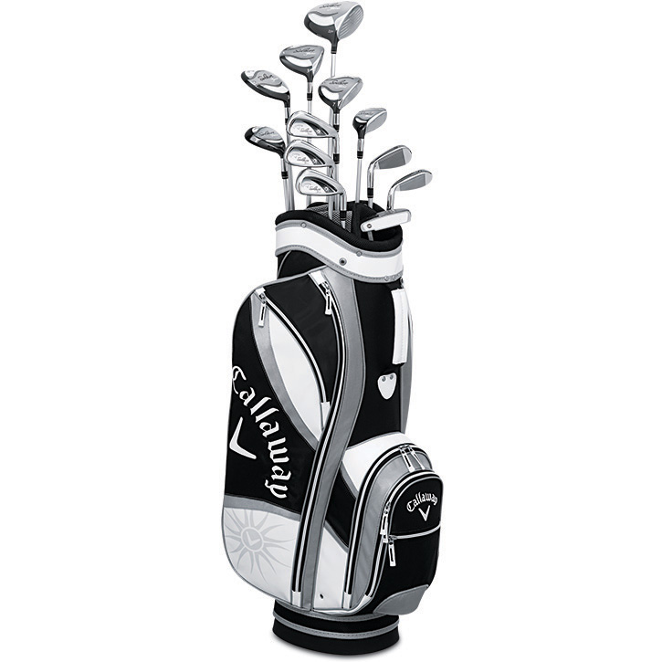 Callaway Solaire Gems 13 Piece Complete Golf Set Womens Black At