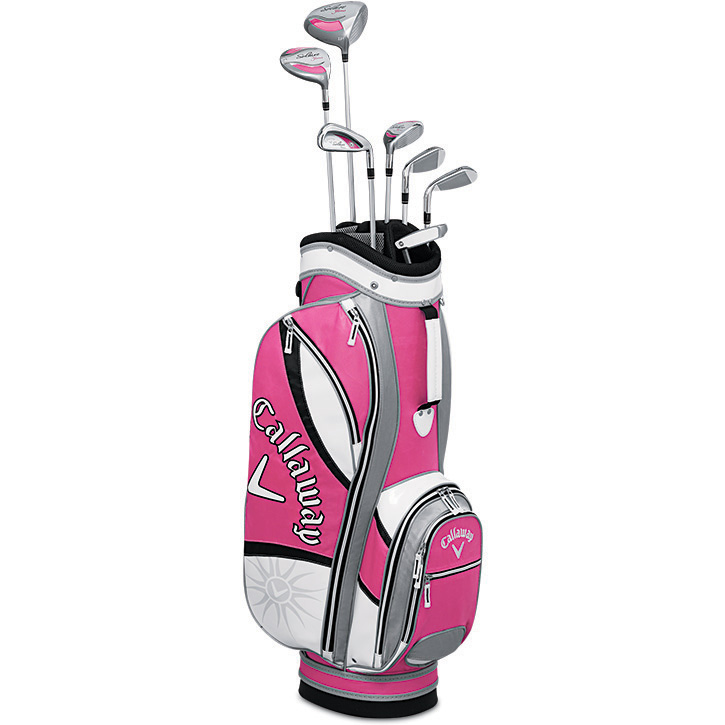 Callaway Solaire Gems 8 Piece Complete Golf Set Womens Quartz Pink