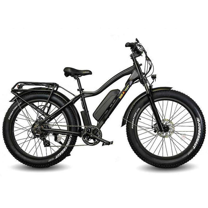BAM Supreme Fat Tire Electric Bike - Black