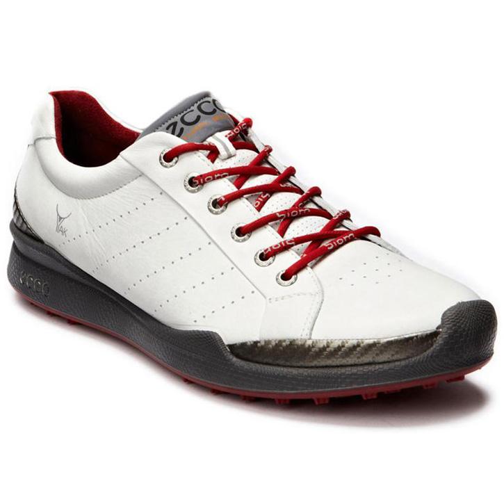 Ecco Biom Hybrid Golf Shoes Mens White Brick At Intheholegolf Com