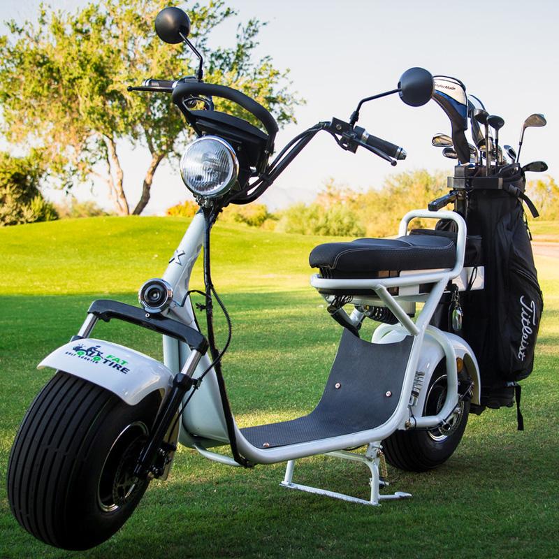 Fat Tire Electric Golf Scooter at InTheHoleGolf.com