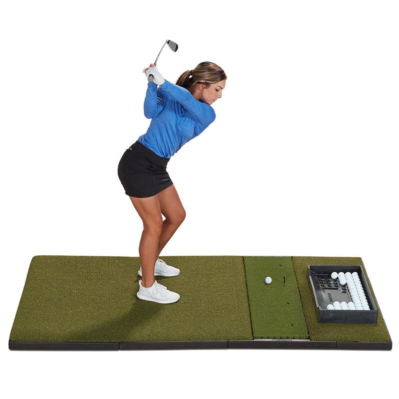 Fiberbuilt Studio Golf Hitting Mat - Single 4'x7'