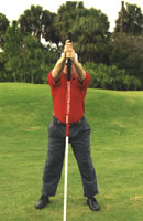 randy meyers golf stretching pole  tour edition at