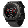 Garmin Fenix 5X Multi Sport GPS Watch - Slate Gray Sapphire with Black Band