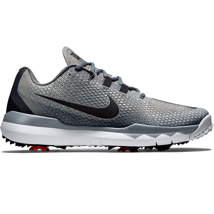 NIKE TIGER WOODS TW 15 GOLF SHOES SILVER