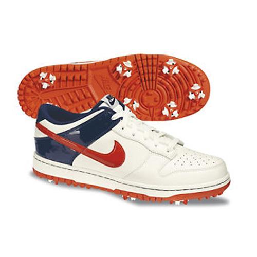 promo code 8237f 2bfc2 Nike 2013 Dunk NG Golf Shoes - Mens Sail Orange Blue at InTheHoleGolf.com