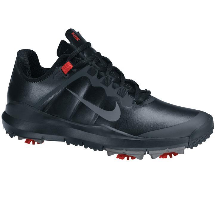 Nike TW  13 Golf Shoes - Black Stealth - Varsity Red at InTheHoleGolf.com bda537df3b27