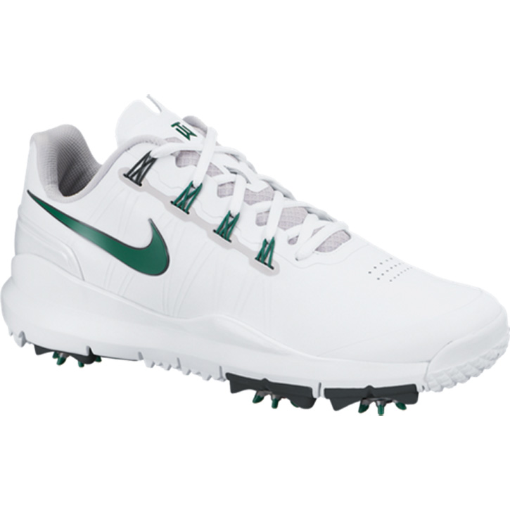 Nike TW  14 Limited Edition Masters Golf Shoes - White Green at  InTheHoleGolf.com 0878b84d2d77