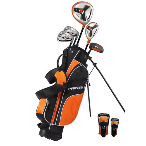 Precise Golf M7 8 Piece Junior Golf Set Ages 9 12 At Intheholegolf Com