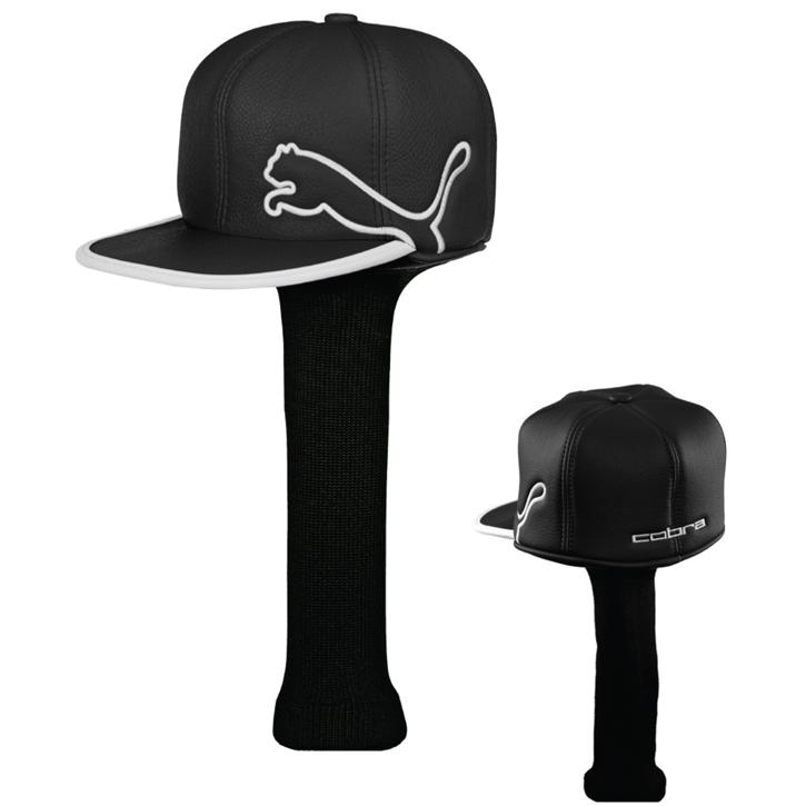 d7b568d6258 Puma Monoline Cap Headcover - Black White at InTheHoleGolf.com