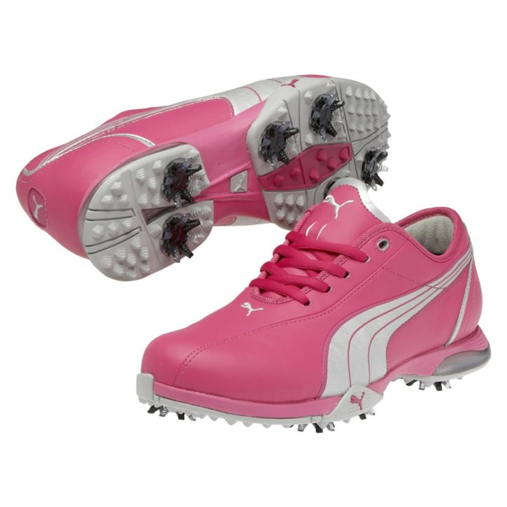 Puma Pg Royal Tee Golf Shoes Womens Cabaret Silver At Intheholegolf Com