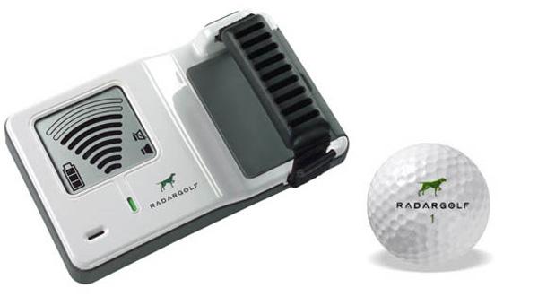 radar golf ball finding system