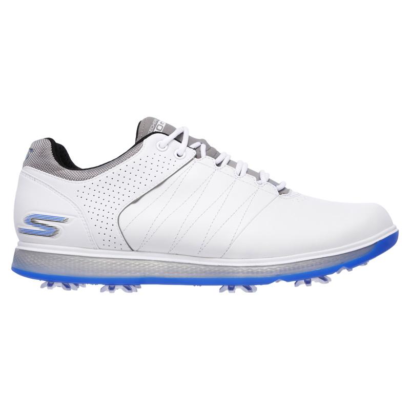 721cbad83e4e 2017 Skechers GO GOLF Pro 2 Golf Shoes - White/Blue at skechers ladies golf