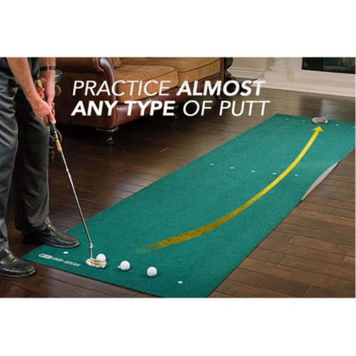Sklz Vari Break 12 X3 Golf Putting Mat With Putt Pocket